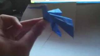 The Origami Hummingbird (not A Tutorial)