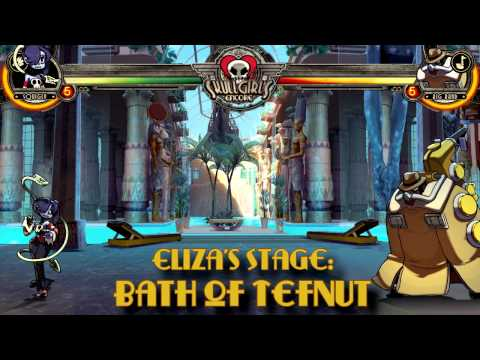 Skullgirls Encore OST - An Oasis in Time (Bath of Tefnut/Sekhmet)