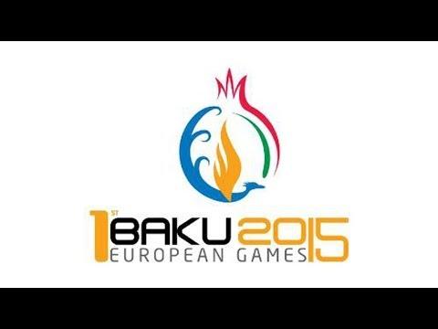 Azerbaijan, Baku 2015 -  First European Olympic Games. Baku, Azerbaijan, 2015 European Olympics.