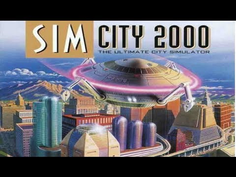 Sim City 2000 on PS3 in True HD 1080p