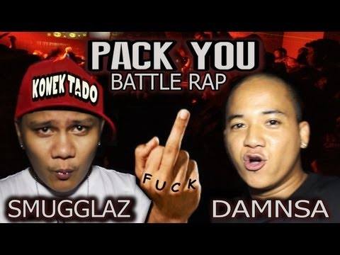 Smugglaz Vs Damnsa  ( Pack You Rap Battle) video