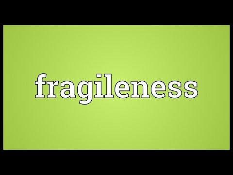 Header of fragileness