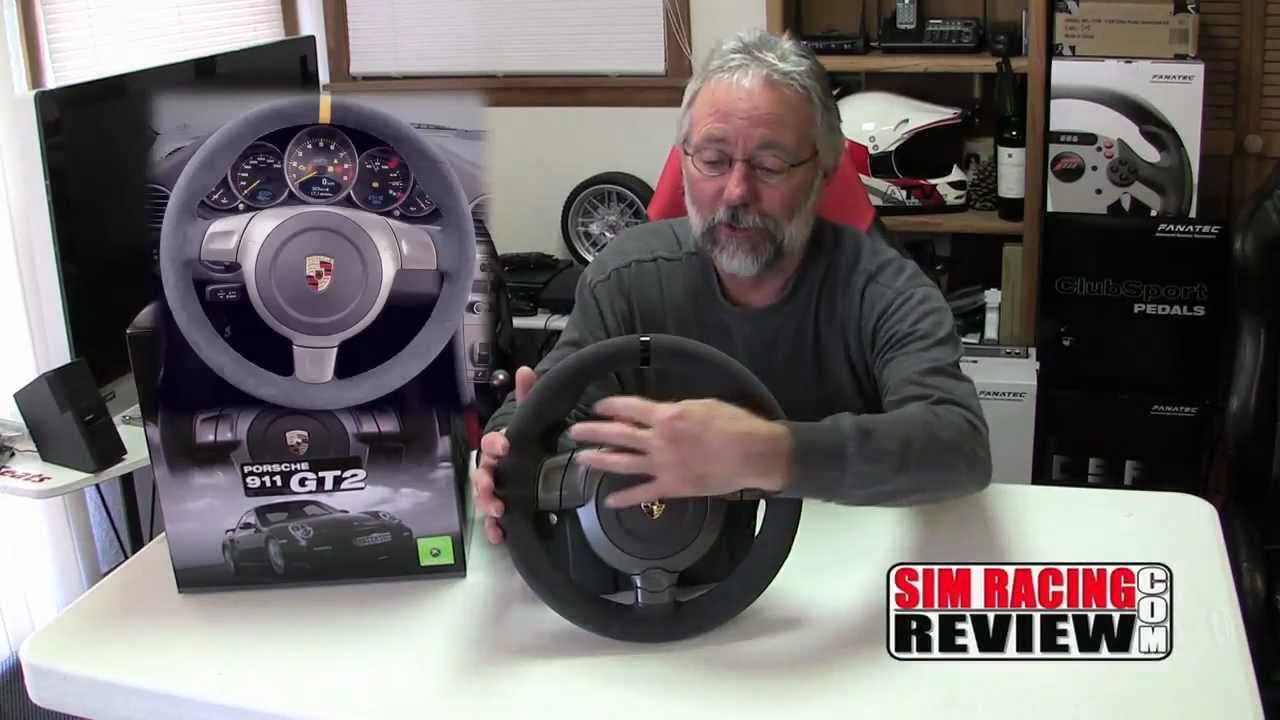 sim racing review fanatec porsche 911 gt2 wheel product review youtube. Black Bedroom Furniture Sets. Home Design Ideas