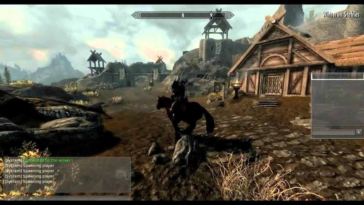 Skyrim Mod Adds Multiplayer