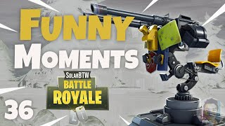 GREATEST MOUNTED TURRET THIRST FAILS! - Fortnite Funny Fails and WTF Moments! #36