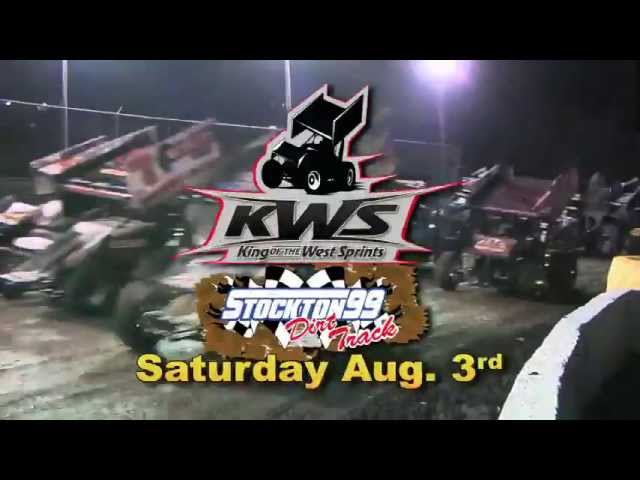 Stockton 99 Dirt Track Commercial - KWS August 3 2013