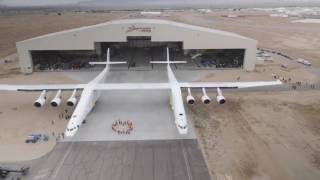 Stratolaunch carrier aircraft rolled out