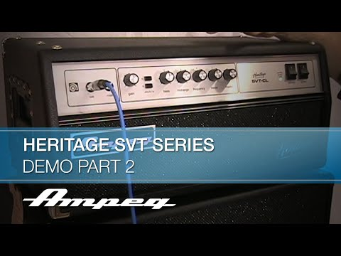 Heritage SVT Series Demo Part 2 Features & Benefits