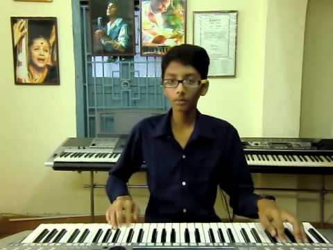 New Telugu Song Panchadara Bomma Bomma From Magadheera On Keyboard By K.sai Teja video