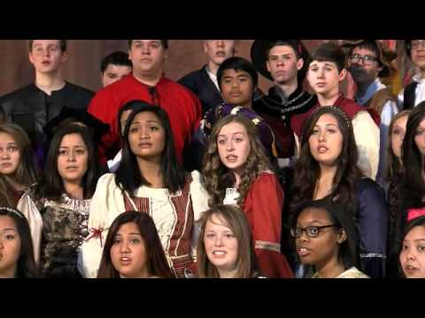 Las Vegas High School Madrigal Singers Perform Holiday Music