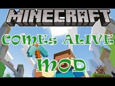 Minecraft 1.5.2-Como instalar Comes Alive Mod-TUTORIAL ESPAÑOL]