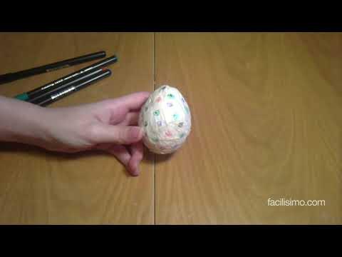 Cómo hacer un huevo de Pascua con papel maché | facilisimo.com
