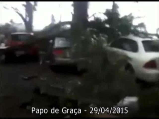 Um tornado passou no meio da sua família?