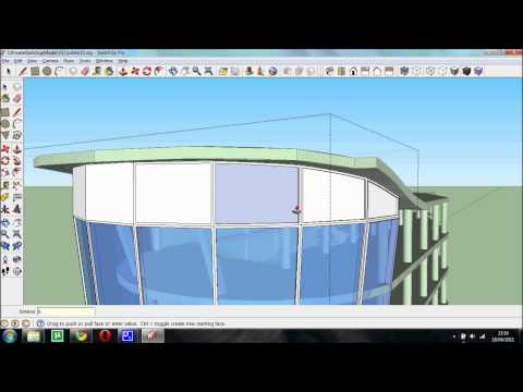 Drawing a Curved Facade