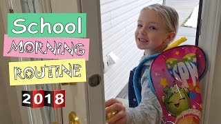 School Morning Routine 2018 | Trinity and Beyond