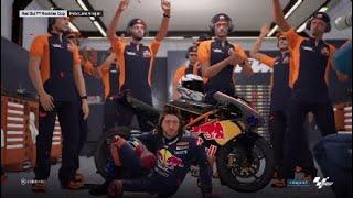 Motogp 18, Career mode part 3, Red Bull Rookies ending