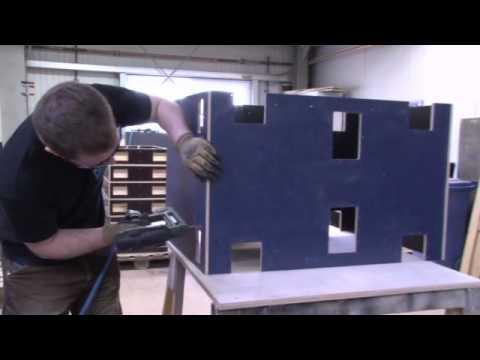 Casetec GmbH - Produktion eines Flightcases