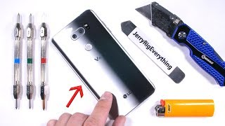 LG V30 Durability Test! - Scratch, BURN, and BEND tested!