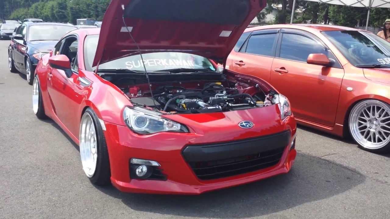 Red Subaru BRZ - Forum Fest 2013 - YouTube