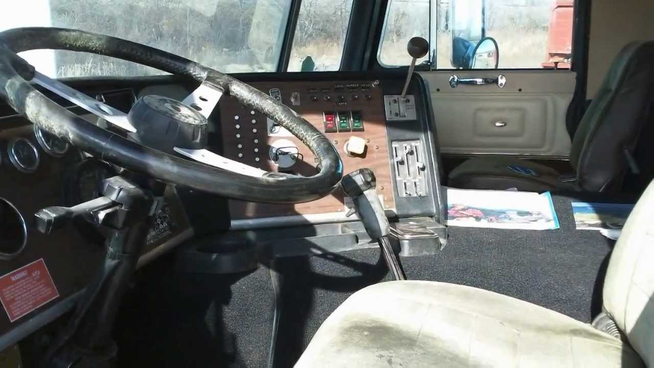 Peterbilt Truck For Sale >> 1986 PETERBILT 362 DAYCAB - YouTube