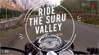 Ride to the suru valley | travel vlogs | ladakh bike ride