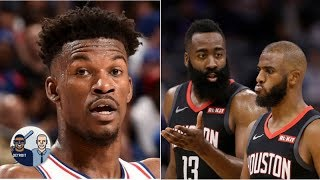 Jimmy Butler fits better with James Harden, Chris Paul than with 76ers - Jalen Rose | Jalen & Jacoby