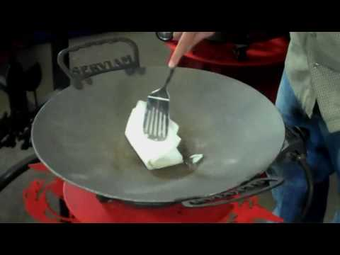 How To Season Your Disc-It, Discada Plow Disk Cooker Grill