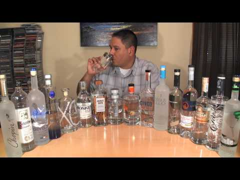 Vodka Taste Test #2 - Another 16 of the Best Reviewed