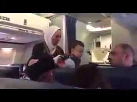 Delta Airlines Video Footage Arab/Muslim Discrimination