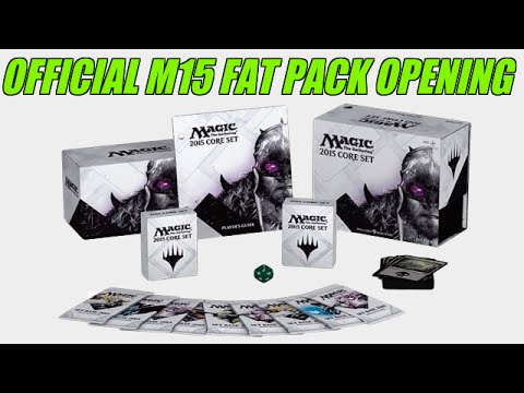 Official M15 Fat Pack Opening!