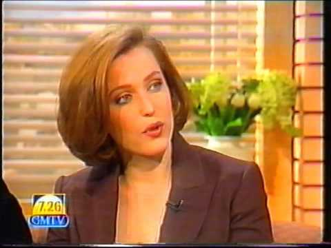 Gillian Anderson & HAL (Extremis video) on GMTV