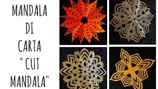 Mandala di carta/Simple Cut Mandala (Decorazione/Speedy video)Arte per Te