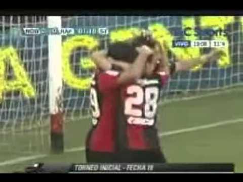 Newells 3-0 Atlético Rafaela Torneo Inicial 2012