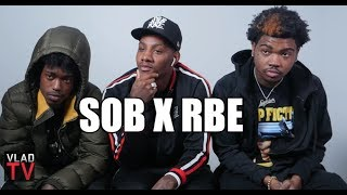 SOB X RBE on Growing Up in Vallejo, Shootings & Stabbings in Middle School (Part 1)