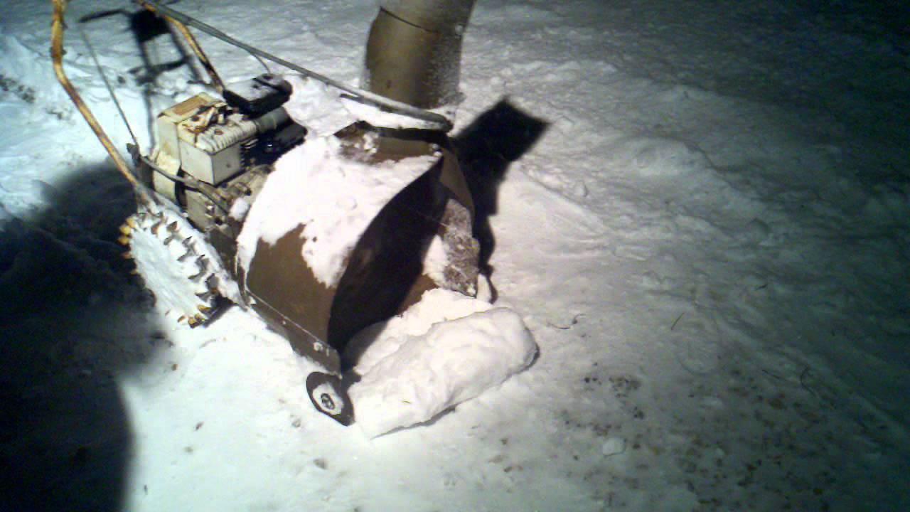 Craftsman 18 antique snowblower - YouTube
