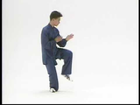 陳式太極拳競技套路 丁傑老師(武英級)