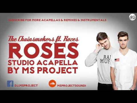 The Chainsmokers - Roses ft. Rozes (Official Studio Acapella - Vocals Only) +DL