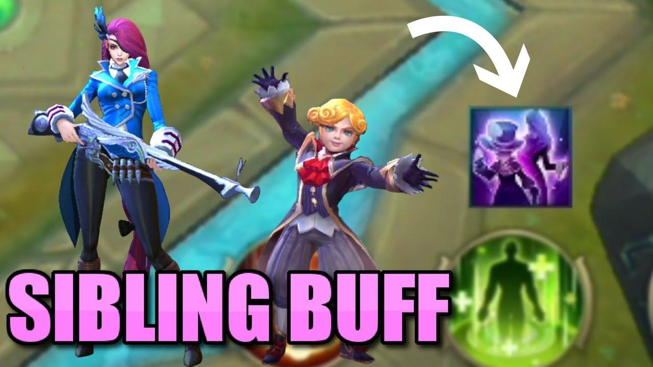 HARLEY AND LESLEY'S SECRET BUFF SIBLING POWER!