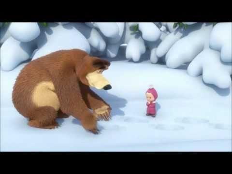 Маша и Медведь - Песенка про следы (Song of Animal Tracks)