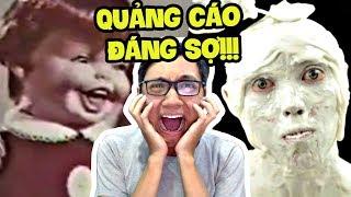 NHỮNG VIDEO QUẢNG CÁO KINH DỊ NHẤT THẾ GIỚI!!! (ĐÁNG SỢ) (Sơn Đù Vlog Reaction)