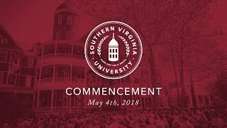 Southern Virginia University 2018 Commencement