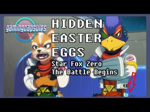 Hidden Easter Eggs in Star Fox Zero The Battle Begins short movie