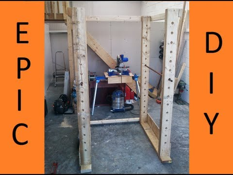 Diy Wood Squat Rack | Search Results | DIY Woodworking Projects