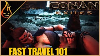 Eveything You Need To Know About Fast Travel Conan Exiles 2018 Beginner Tips