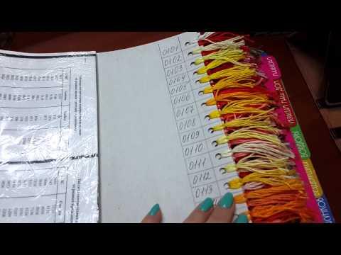 Карта цвета мулине своими руками
