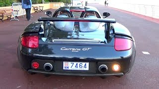 PORSCHE CARRERA GT SOUND !!