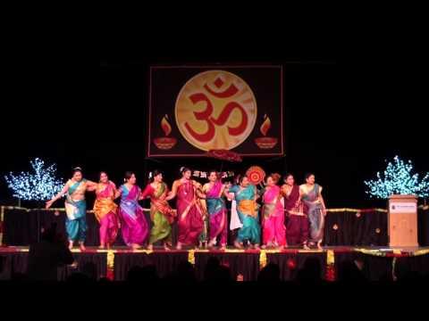 Lezim Dance by Marathi Mandal of Manitoba - 2015