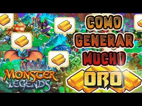 🤑 COMO GENERAR MUCHO ORO! 🤑Guia Completa - Monster Legends