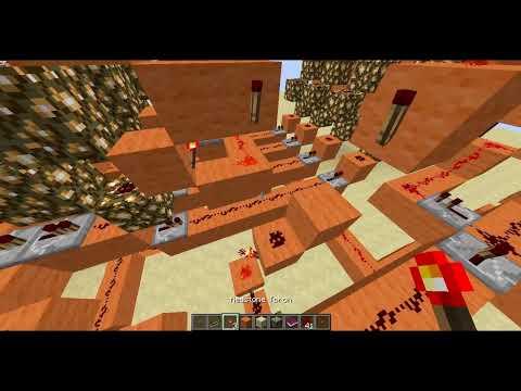 MINECRAFT - [ TUTORIAL ] - Redstone Avanzado - Contraseña con decodificador de códigos binarios