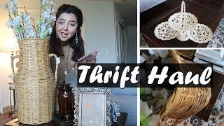 THRIFT HAUL | HOME DECOR, FURNITURE AND MORE 🔍💲😍